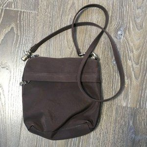 Brown Water Resistant Crossbody Purse Lining